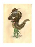 Leech 1873 'Missing Links' Parade Costume Design