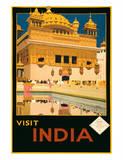 Visit India - The Golden Temple (Harmandir Sahib) - Amritsar  Punjab
