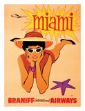 Miami  Florida - Braniff International Airways