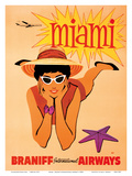 Miami  Florida - Braniff International Airways