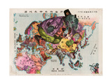 Satirical Map - The Illustration of the Great European War