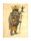 African Elephant 1873 'Missing Links' Parade Costume Design