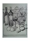 Roses  Italian Wine and Garlic