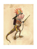 Salamander 1873 'Missing Links' Parade Costume Design