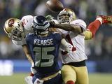NFL Playoffs 2014: Jan 19  2014 - 49ers vs Seahawks - Donte Whitner  Eric Reid