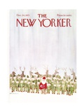 The New Yorker Cover - December 24  1973