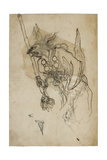 Goblin Sumi Underdrawing on Paper