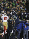 NFL Playoffs 2014: Jan 19  2014 - 49ers vs Seahawks - Richard Sherman
