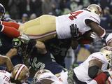 NFL Playoffs 2014: Jan 19  2014 - 49ers vs Seahawks - Anthony Dixon