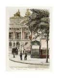 Boulevard des Capucines: Place de L'Opéra