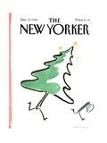 The New Yorker Cover - December 19  1988