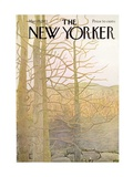 The New Yorker Cover - March 25  1972