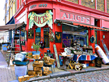 Alice's Antiques  Portobello Road in Notting Hill  London
