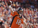 NFL Playoffs 2014: Jan 19  2014 - Broncos vs Patriots - Peyton Manning