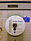Help Point London Tube Station