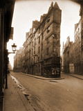 Angle des Rues de Seine et de l'EChaude  6e Arrondissement  Mai 1924