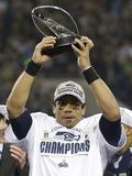 NFL Playoffs 2014: Jan 19  2014 - 49ers vs Seahawks - Russell Wilson
