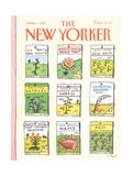 The New Yorker Cover - June 1  1987