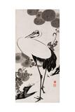 A Cranes Sumi on Paper 2