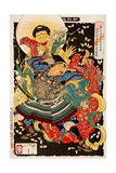 Toki Motosada  Hurling a Demon King  Thirty-Six Transformations