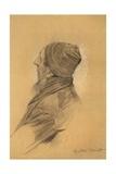 Man with Beard Cap in Profil Perdu