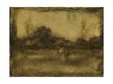 Gilded Landscape I