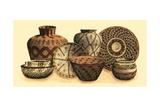 Hand Woven Baskets VI Reproduction d'art par Vision Studio