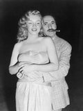 Marilyn Monroe  Groucho Marx  Love Happy  1949