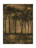 Bronzed Treeline I