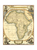 Small Nautical Map of Africa