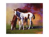 Hot Color Reproduction d'art par Julie Chapman