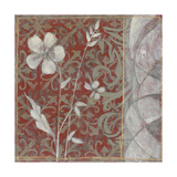 Taupe and Cinnabar Tapestry II