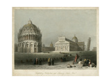 Baptistry  Cathedral &Leaning Tower