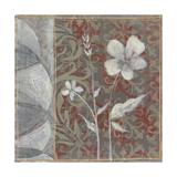 Taupe and Cinnabar Tapestry IV
