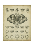 Heraldic Crowns and Coronets I