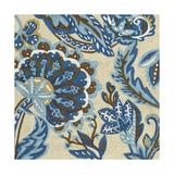 Indigo Tapestry I