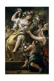 Flora  Goddess of Flowers  Ca 1697