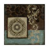 Damask Tapestry w/Rosette I