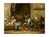 The Monkeys at School  Ca 1660