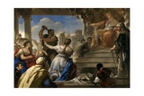 The Judgment of Solomon   1694-1695