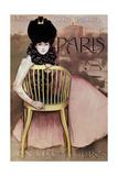 Cartel De Los Cigarrillos Paris Son Los Mejores  1901