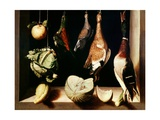 Still-Life with Game Fowl  1600-1603