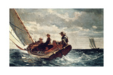 Breezing Up (A Fair Wind), 1876 Giclée par Winslow Homer