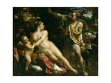 Venus  Adonis and Cupid  Ca 1590
