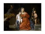 Holy Family with Saint John  Ca 1723