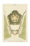 Plan du Rez de Chaussee du Palais