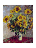 Still Life with Sunflowers  1880