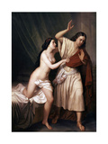 Joseph and Potiphars Wife  1854