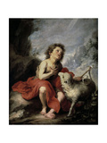Saint John the Baptist as a Child  1670-1680