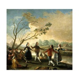 Dance on the Banks of the Manzanares  1776-1777